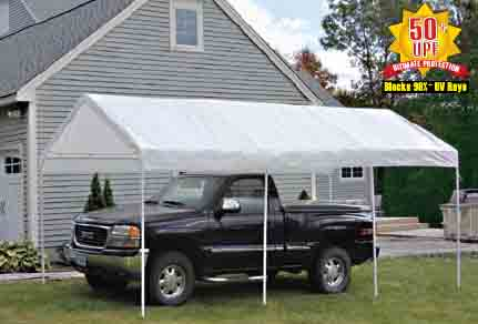 10' Wide Canopies