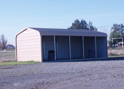 Utility carports amp sheds for Rv garage kits