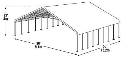 Carports metal carport kits garage kits metal building rv for 30x50 garage prices