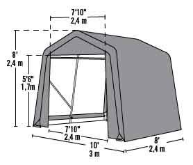 3 Car Metal Garage Kits Garage Metal Storage Building Kits