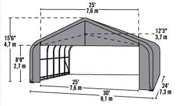 Flat Roof Framing Methods additionally Steel Carport Construction Details in addition 10m 9ft 32ft Luxury Marquee Party Tent P 9046 likewise Green House together with 30x24x16 Peak Style Shelter. on pvc shelter plans