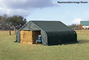 22x40x11 Peak Style Shelter