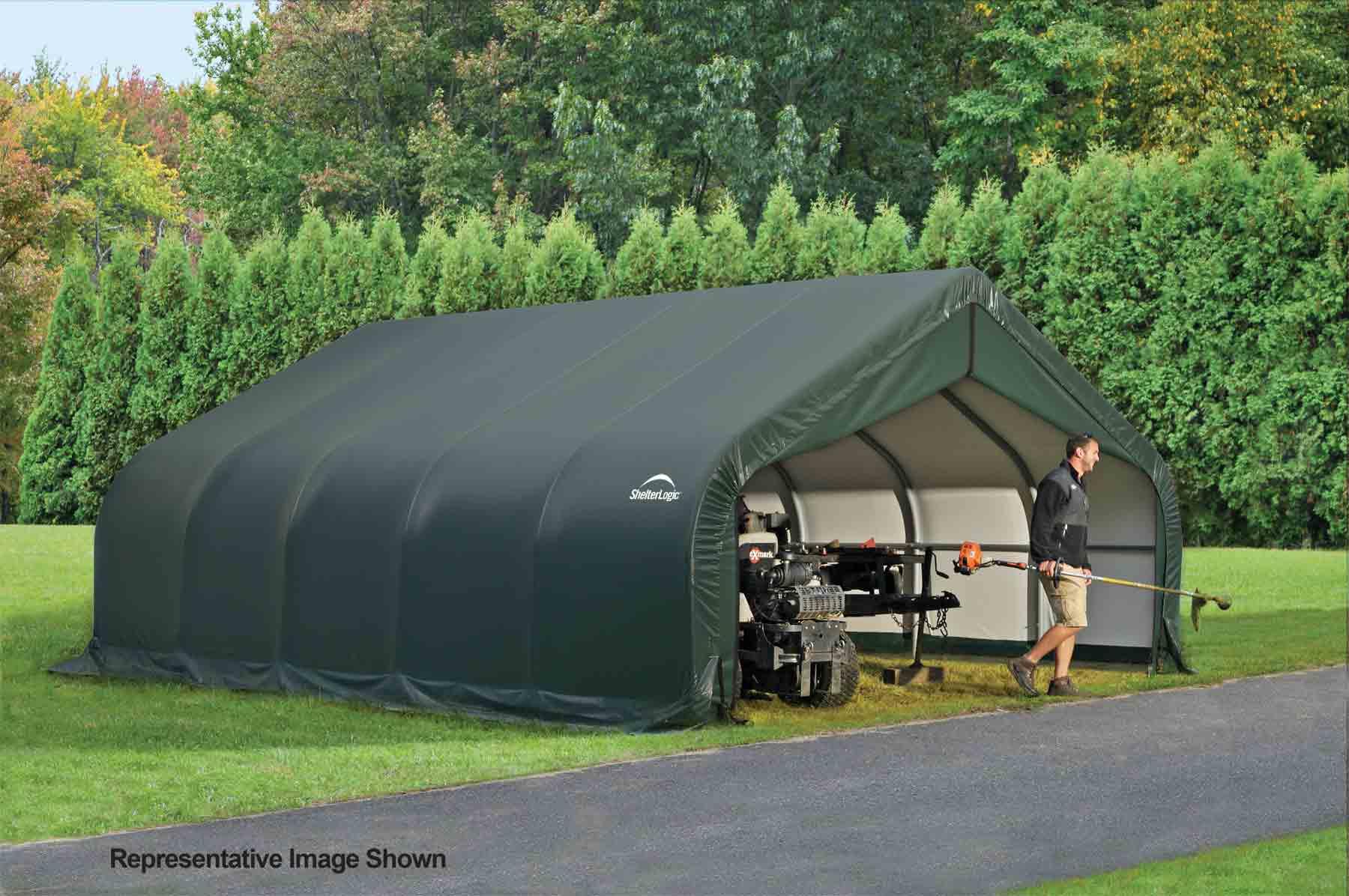 18x28x12 Peak Style Shelter