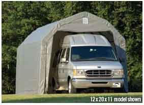 12x28x11 Barn Shelter