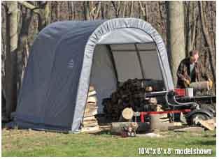 8x8x8 Round Style Shelter