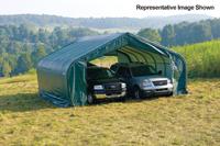 22x40x13 Peak Style Shelter