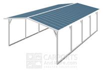 Carports metal carport kits garage kits metal building rv for Apartment carport kits