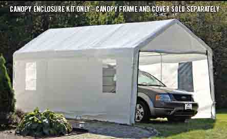 10' Wide Canopy Accessories