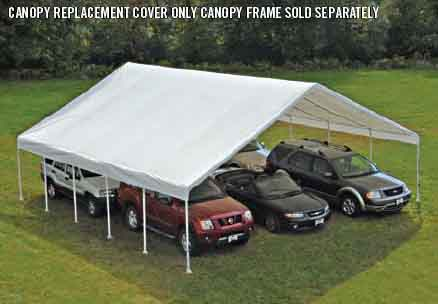 30' Wide Canopy Accessories