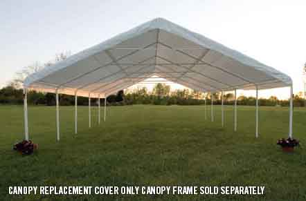 24' Wide Canopy Accessories