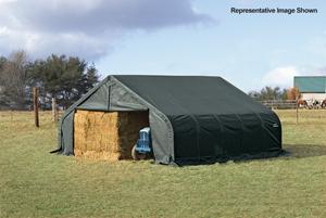 22x24x11 Peak Style Shelter