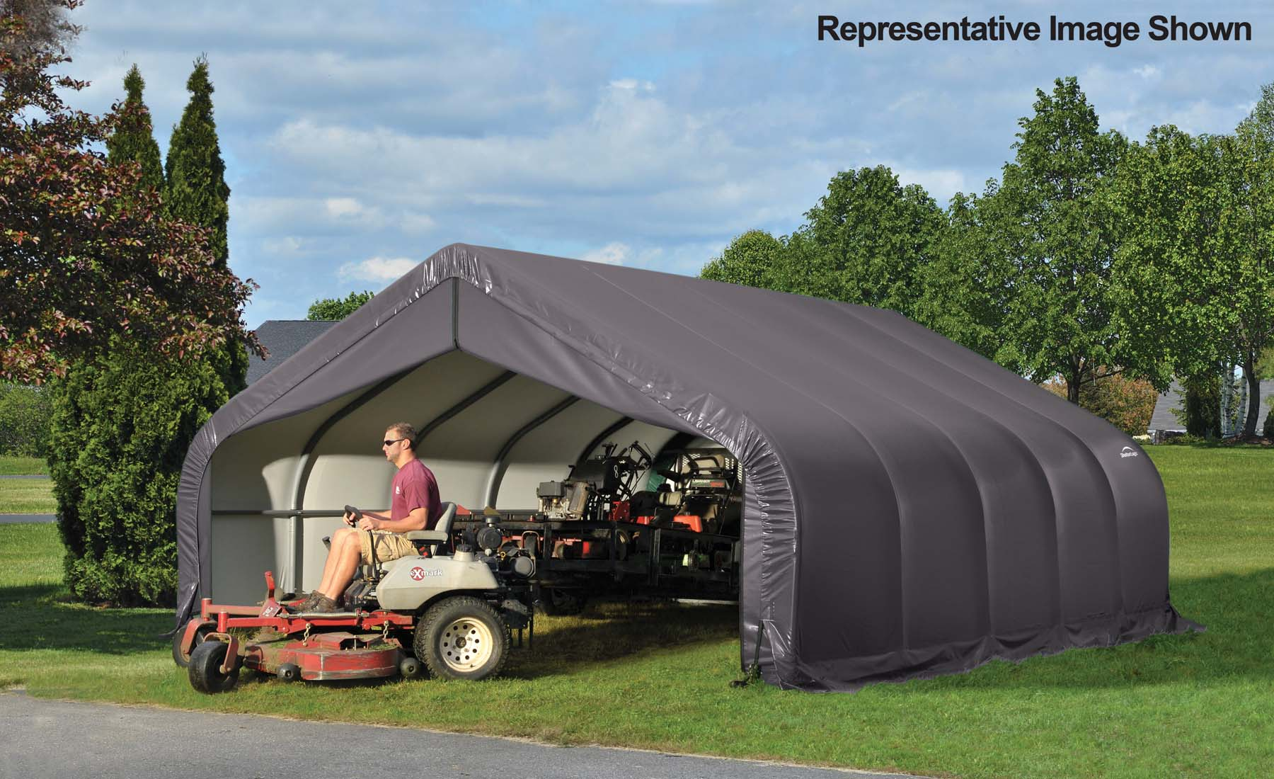 Carports And More Garages Double Wide Heavy Duty Garages 18