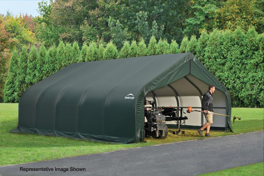 18x24x12 Peak Style Shelter