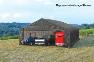 30x24x16 Peak Style Shelter