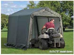 8x16x8 Peak Style Shelter