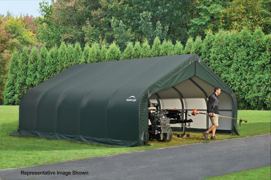 18x32x12 Peak Style Shelter