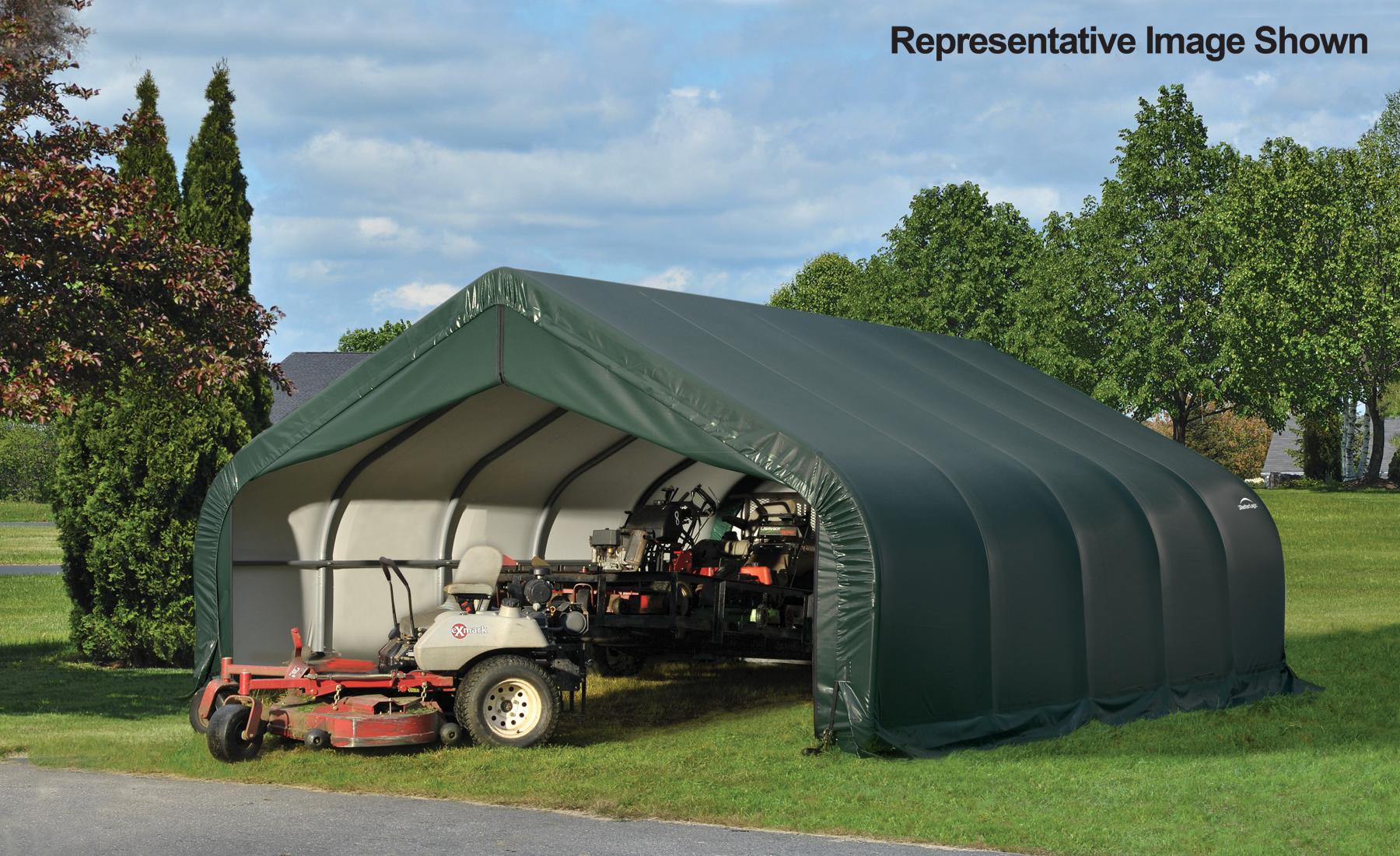 18x20x10 Peak Style Shelter
