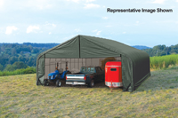 30x20x16 Peak Style Shelter