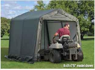 11x8x10 Peak Style Shelter