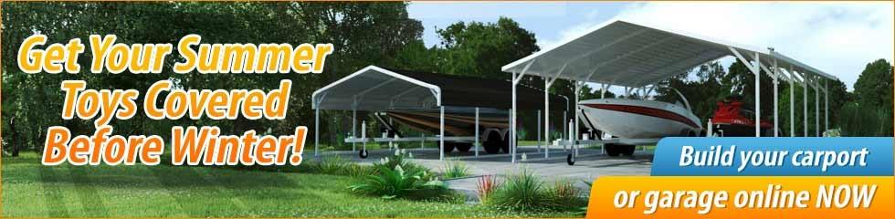 Rv Shelters Metal Arizona : Carports for sale arizona metal rv carport kits az